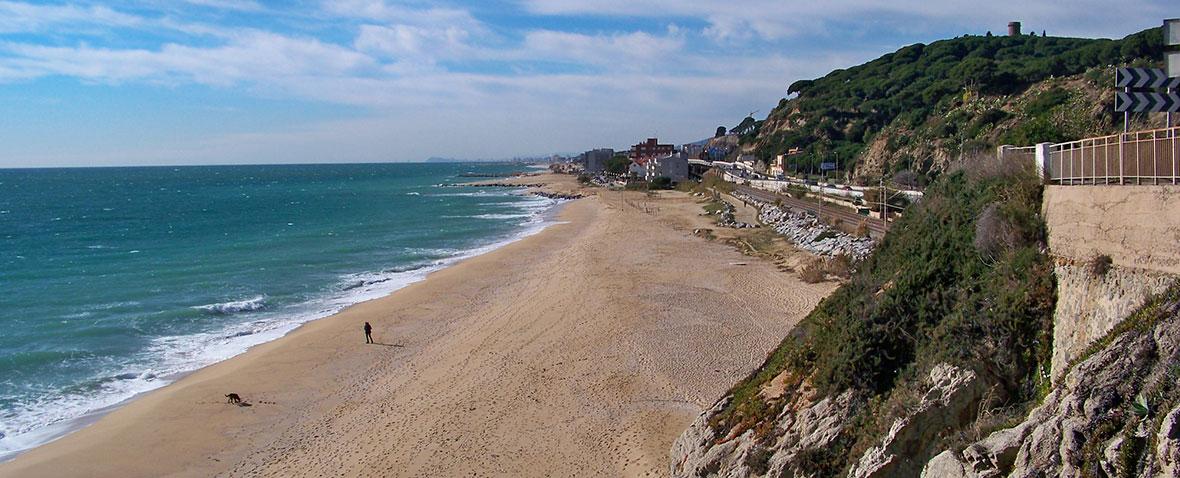 Playa Arenys de Mar