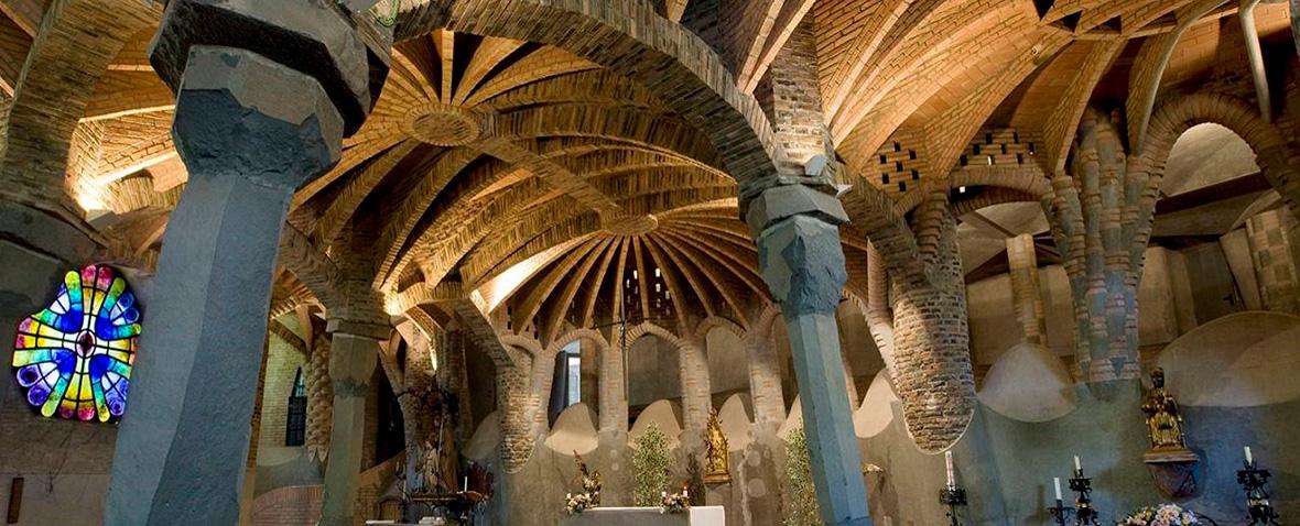 La Cripta de la colonia Guell